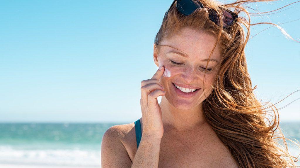 Efectos sol en la piel crema solar